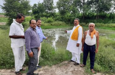 Life will be available from water, campaign launched in the village to store rain water