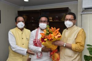 Tourism Minister G. Pushkar Singh Dhami met Kishan Reddy, made these proposals for the state