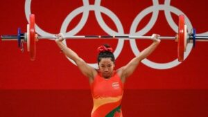 Chanu gave the country its first medal in the Tokyo Olympics